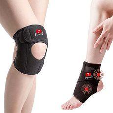 7Power醫療級專業護膝 2+護踝 2 組