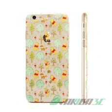 86hero 迪士尼 iPhone 6 4.7吋 透明硬式保護殼 - 小熊維尼