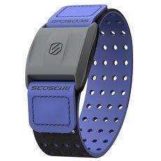 Scosche Rhythm+ 手臂式心跳帶 - 藍色(可搭配Garmin Polar Bryton PAPAGO等GPS手錶或iPhone、Android手機)