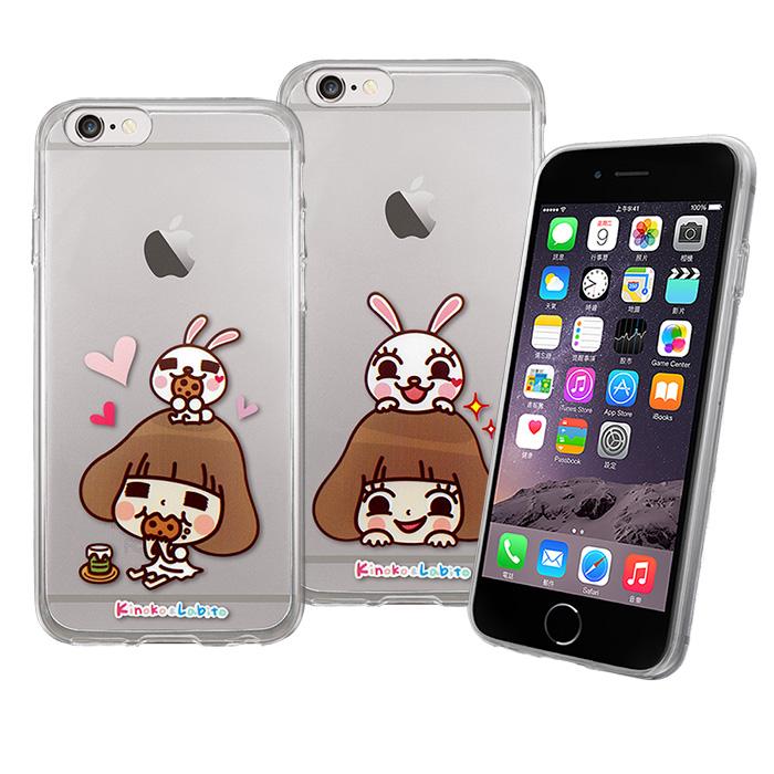 【Metal-Slim】Apple iPhone 6s/6 4.7香菇妹授權正版透明TPU果凍套保護殼
