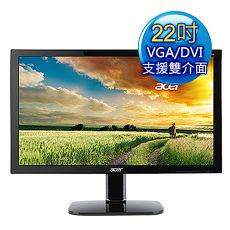 【APP】Acer宏碁 KA220HQ 22型 FullHD 護眼低藍光 液晶螢幕價格