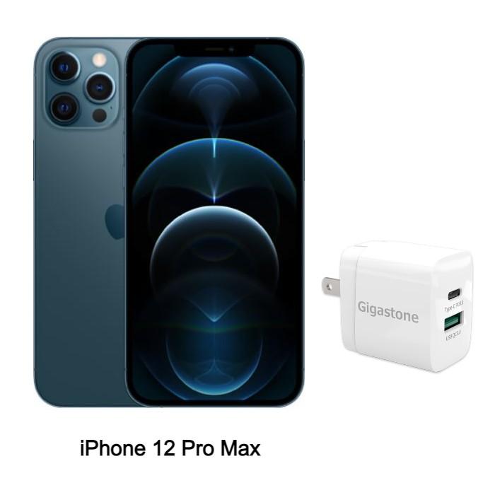 Apple iPhone 12 Pro Max 128G (藍) (5G)【快充組】