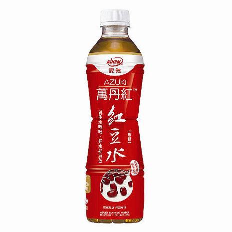 愛健 萬丹紅 紅豆水 530mlx24瓶/箱 - APP/活動