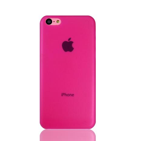 Lilycoco iPhone 5C 超薄果凍保護殼-粉色