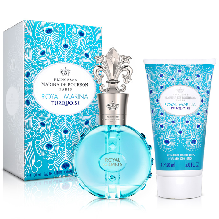 Marina de bourbon 皇家璀璨藍寶石淡香精(100ml)-送品牌香氛小物