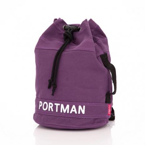 PORTMAN 硬派作風MINI拳擊包(紫心) PM132132