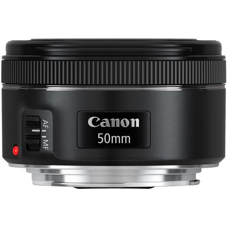 Canon EF 50mm F1.8 STM 標準鏡頭(公司貨)-彩色薄框濾鏡49mm