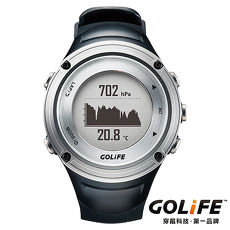 GOLiFE GoWatch X-PRO 全方位智慧戶外運動GPS腕錶(by PAPAGO)-銀色★下殺送跑衣+腿套★