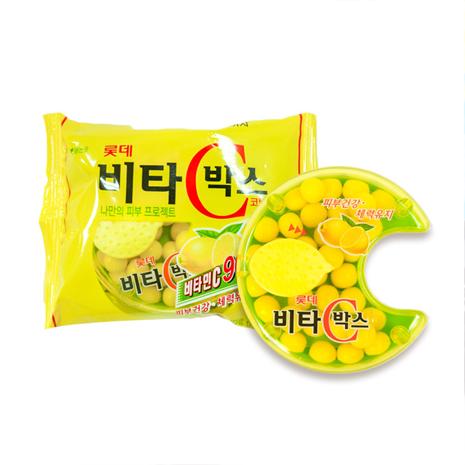 【韓璧食府】Lotte樂天VC檸檬糖(12入/盒)