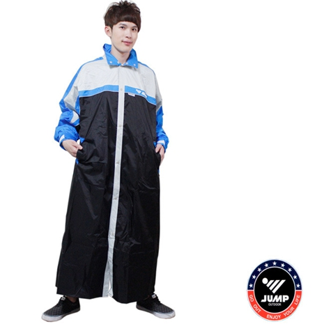【JUMP】第二代俏麗輕柔前開風雨衣-大尺寸5XL