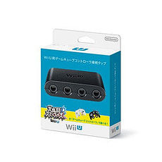 Wii U用原廠 GC GameCube控制器連接器 手把擴充插槽轉接器 明星大亂鬥用