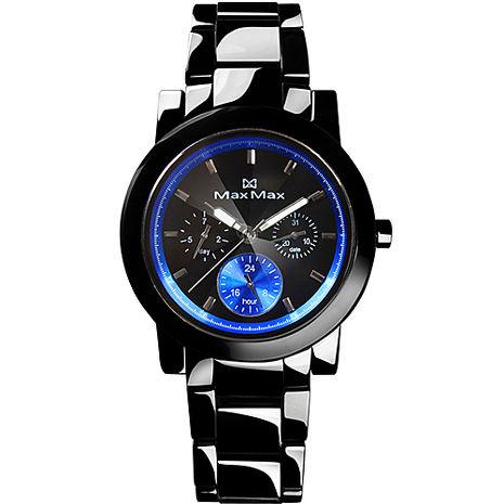 MAX MAX 時尚科技感精密陶瓷中性錶