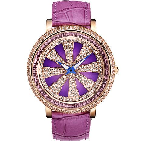 ELIDA 法輪晶鑽皮帶錶