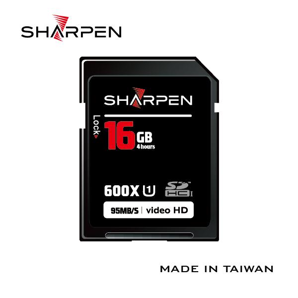 SHARPEN銳仁記憶卡 SD 600X 32GB 95M/S 符合UHS-1標準 高階單眼相機專用 台灣製造 (湧蓮公司貨)價格