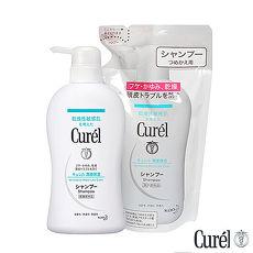 珂潤 Curel 溫和潔淨洗髮精420ml+補充包360ml價格