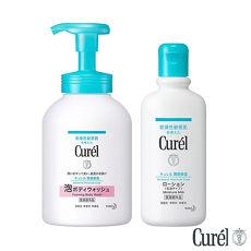 珂潤 Curel 潤浸保濕沐浴乳+潤浸保濕身體乳液價格