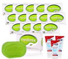 印度原裝外銷級MEDIMIX 美祕使精粹寶貝皂15入加贈組