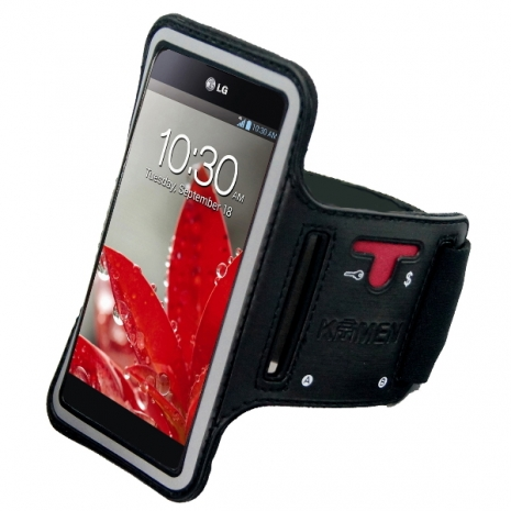 【KAMEN】LG 手机系列专用《运动臂套/手腕套》(大尺寸:可支援6吋手机)