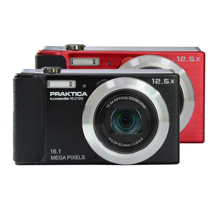 【德國柏卡Praktica】Luxmedia 16-Z12S 美攝動人時尚口袋機(紅色)