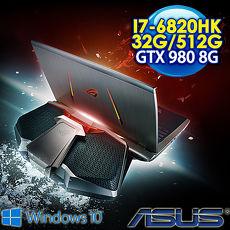 【瘋狂下殺 】ASUS ROG GX700VO-0031A6820HK 17.3FHD 水冷電競筆電