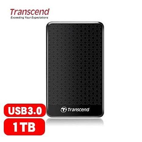 Transcend 創見  StoreJet 25A3  1TB  隨身硬碟(黑)