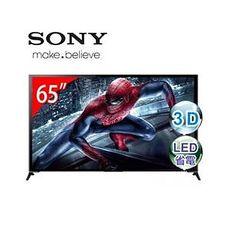 【保固5+1年】SONY索尼 65型3D 4K智慧型連網電視 KD-65X9500B