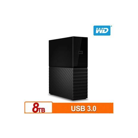 WD My Book 8TB 3.5吋外接硬碟 SESN