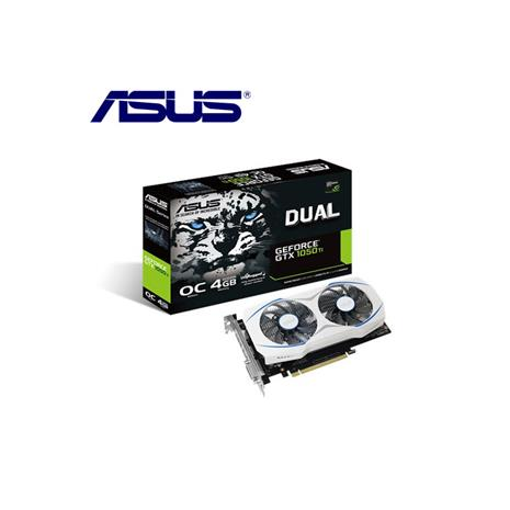 ASUS華碩 GeForce DUAL-GTX1050TI-O4G 顯示卡