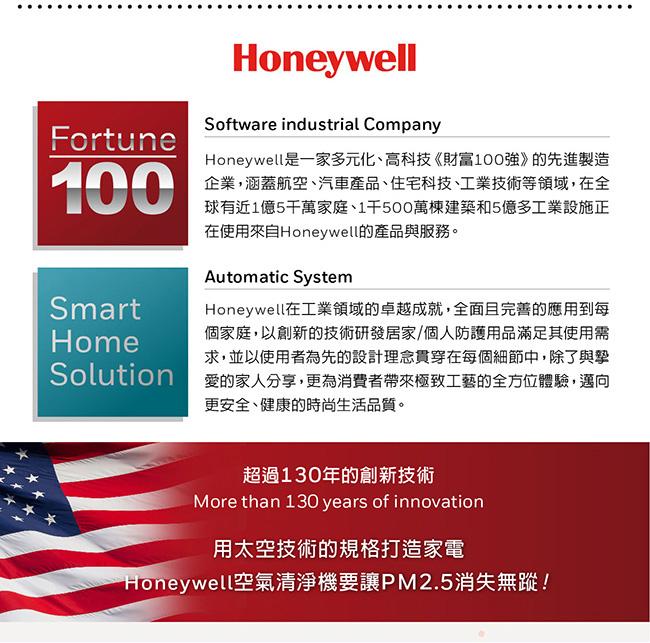 美國Honeywell-N95防疫智慧型動空氣清淨機(黑)MATW9501B(歡慶myAir_PM2.5偵測器上市,限時優惠中)