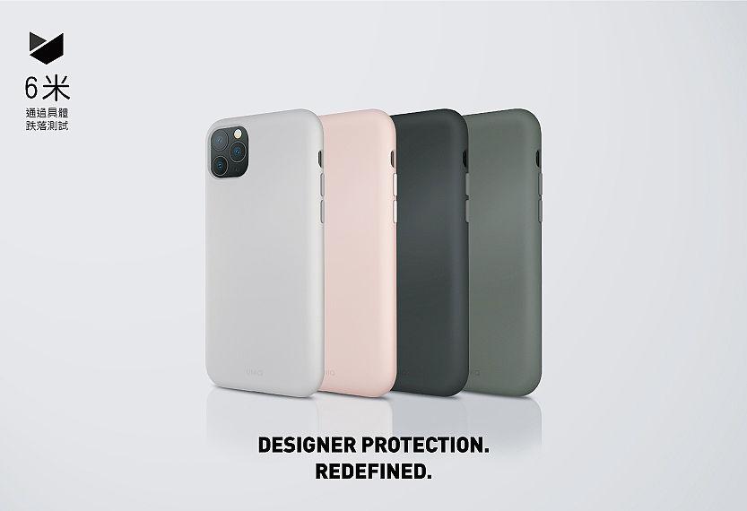 UNIQ iPhone 11(6.1吋) LinoHue 液態矽膠防摔手機殼