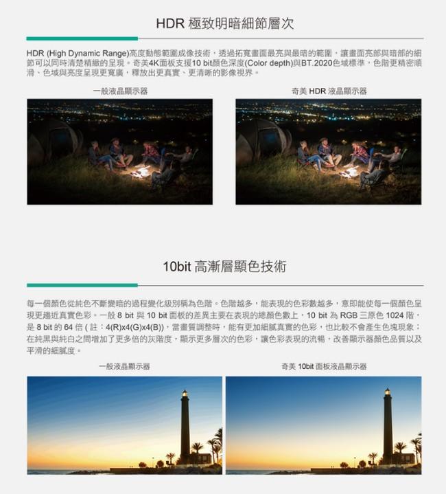 CHIMEI奇美 55吋4K聯網HDR液晶顯示器+視訊盒(TL-55M200)不含安裝