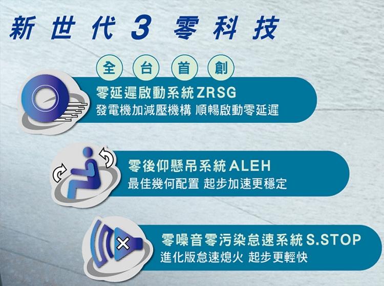 SYM三陽機車 FNX 125 六期雙碟(怠速熄火/全時點燈) 2018新車