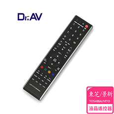 【Dr.AV】TOSHIBA/VITO 東芝/景新 LCD 液晶電視遙控器(CT-90284)