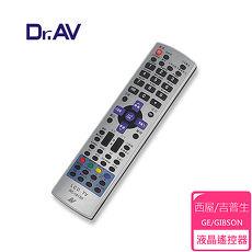 【Dr.AV】GE/GIBSON 西屋/吉普生 LCD 液晶電視遙控器(TRC-1813D)