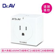 【Dr.AV】SMART TIMER WIFI無線智能插座定時器(TE-686I)