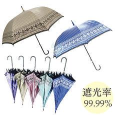 高遮光率 双面蕾丝遮光宫廷伞/晴雨伞-随机款