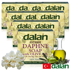 【土耳其dalan】月桂橄欖油傳統手工皂150g (12%+72%) 10入