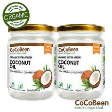 【斯里蘭卡CoCoBeen】有機初榨冷壓椰子油2入組(500ml/瓶)