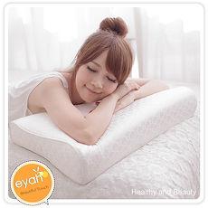 【eyah】45顆獨立筒工學記憶枕1入
