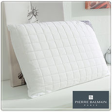 【PB皮爾帕門】特殊防潑水天然乳膠枕-平面型-2入組