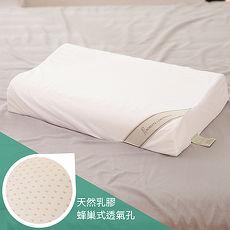 【ROBERTA DI CAMERINO諾貝達】100%天然乳膠人體工學枕