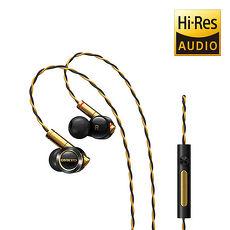 ONKYO E900M Hi-Res混合結構入耳式耳機-黑色
