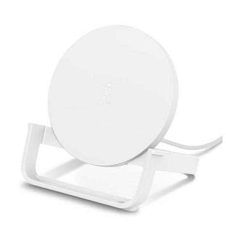 Belkin Boost Up 7.5W/10W 無線充電桌架(白)