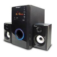 【福利品】Dennys USB/SD/FM超重低音2.1喇叭T-850