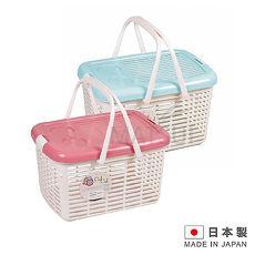 CielCiel 日本進口多用途置物箱紅/藍 顏色隨機 IN-D251