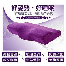 日本3D超紓壓透氣磁石款碟型枕-小藏青/玫紅/紫色/咖啡 FJ-835