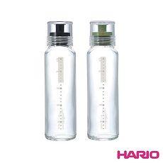 HARIO 玻璃調味瓶240ml黑/墨綠 顏色隨機 HAR-DBS240