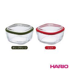 HARIO 日本製造 附蓋微波玻璃皿600ML-HAR-CWK-M