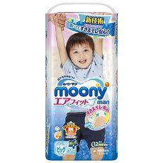滿意寶寶 日本頂級超薄紙尿褲男用(XL)(38片 x 4包/箱)