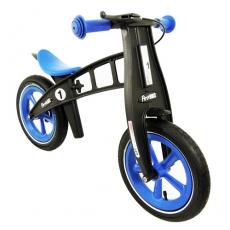 【FIRSTBIKE 】 寓教於樂-兒童滑步車/學步車-黑金鋼藍